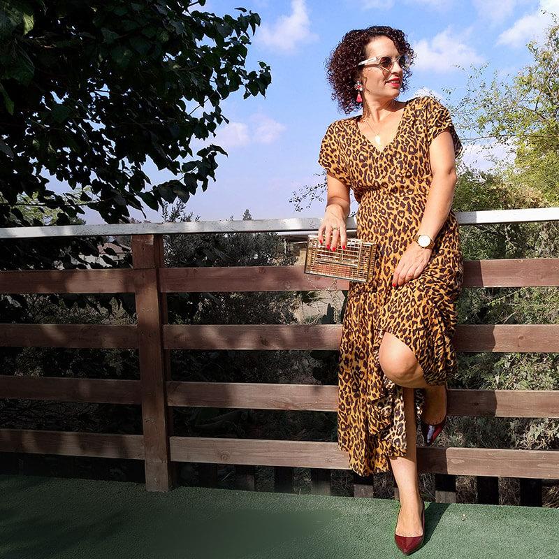 בלוג אופנה סטיילינג מנומר חורפי